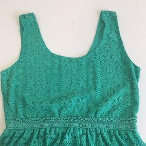 Love Reign Dresses - Cute aqua dress